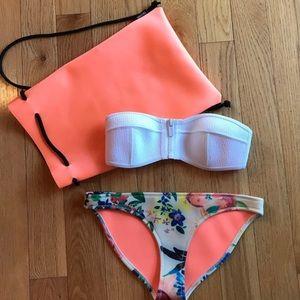 Triangl Floral Bikini Set